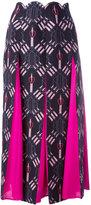 Valentino Love Blade skirt - women - Silk/Virgin Wool - 42