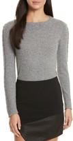 Alice + Olivia Women's Sparrow Grommet Sleeve Sweater