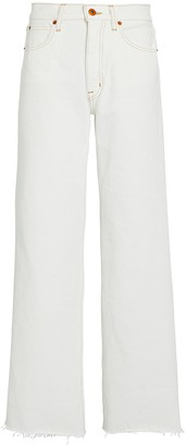 SLVRLAKE Grace High-Rise Ankle Jeans