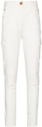 Balmain Skinny-Fit Cargo Jeans