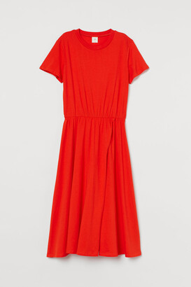 H&M Jersey Dress - Orange