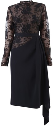 Alexander McQueen Cady And Lace Dress