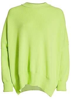 Free People Women's Ribbed Mockneck Sweater