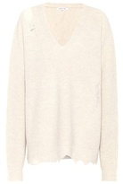 Helmut Lang Shredded wool and cashmere sweater