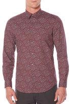 Perry Ellis Big & Tall Floral Sport Shirt