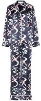 Olivia von Halle Lila Amelia silk shirt and trouser set