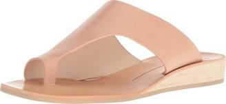 Dolce Vita Women's HAZLE Slide Sandal Caramel Leather 11 M US