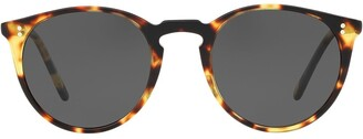 Oliver Peoples O'Malley Sun round-frame sunglasses
