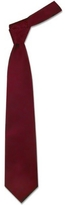 Forzieri Solid Bordeaux Extra-Long Tie