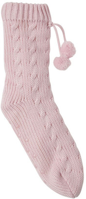 S.O.H.O New York Sherpa Lined Home Socks Baby