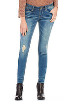 YMI Jeanswear Luxe Destructed Stretch Skinny Jeans