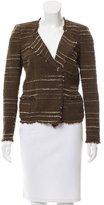 Etoile Isabel Marant Tweed Frayed Jacket