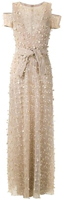 Gloria Coelho Textured Gown