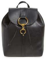 Frye Ilana Harness Leather Backpack - Black