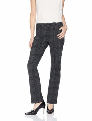 NYDJ Women's Petite Marilyn Straight Leg Ponte Pant