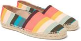 Paul Smith - Sunny Striped Canvas Espadrilles