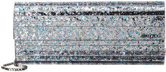 Jimmy Choo Sweetie Chain Strap Glitter Clutch
