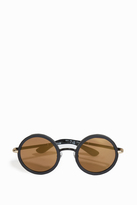 Paul & Joe Mirrored Round Sunglasses