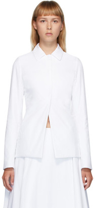 The Row White Gemma Jacket