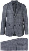 Tagliatore two-piece plaid suit