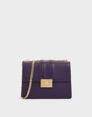 Charles & Keith Chain Strap Shoulder Bag