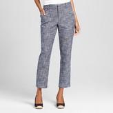 Women's Tweed Classic Ankle Pant Navy - Merona