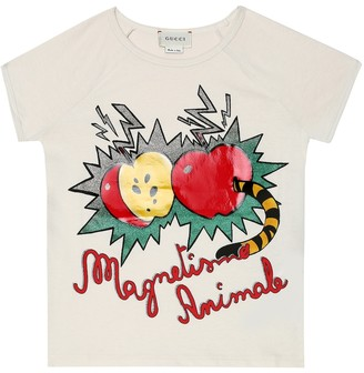 Gucci Kids Magnetismo Animale cotton T-shirt