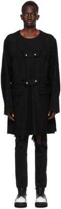 TAKAHIROMIYASHITA TheSoloist. Black Medical Jacket
