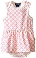 Toobydoo Pink/White Romper Dress (Infant)