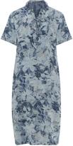 Karin Paul Plus Size Tie neck shirt dress