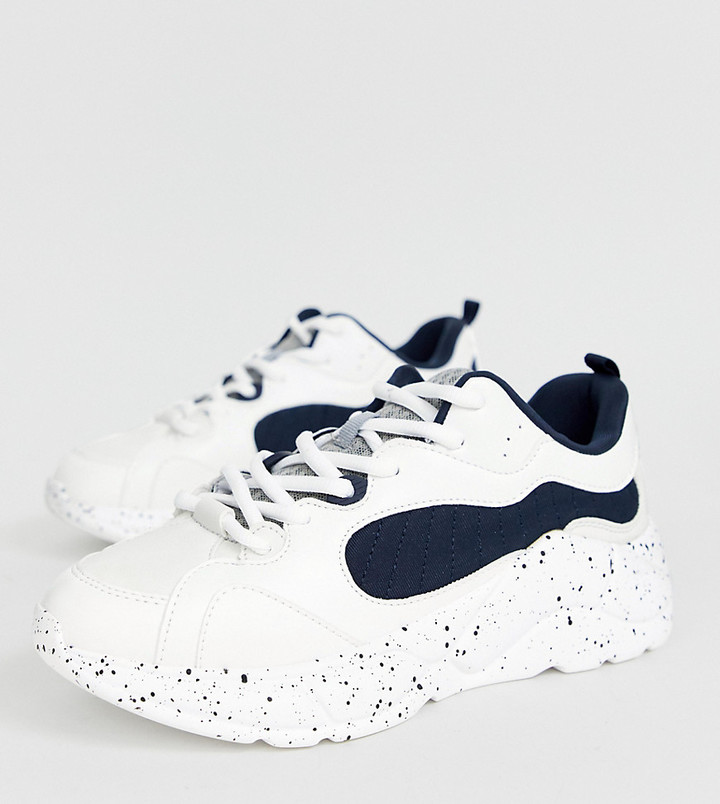 Bershka White Women's Shoes on Sale