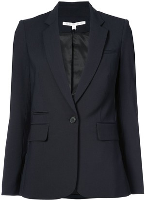 Veronica Beard One Button Blazer