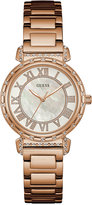 GUESS Women's South Hampton Rose Gold-Tone Stainless Steel Bracelet Watch 38mm U0831L2