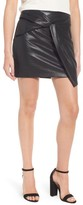 Ella Moss Women's Faux Leather Miniskirt