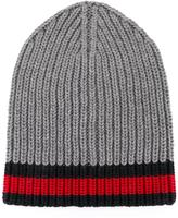 Gucci Wed trim beanie - men - Wool - One Size
