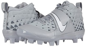 Nike Force Trout 6 Pro MCS (Wolf Grey/White/Cool Grey) Men's Cleated Shoes