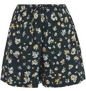 See by Chloe Floral-print Cotton Shorts