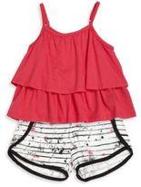 DKNY Baby's Two-Piece Fiesta Tank Top & Shorts Set