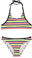 Milly STRIPED EYELET BIKINI