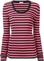 Sonia Rykiel striped jumper - women - Cotton/Polypropylene - S