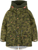 Scotch & Soda Printed parka