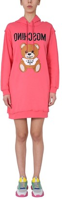 Moschino Dress With Set Out Embroidered