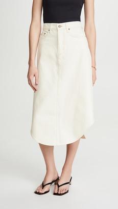 Nobody Denim Concept Skirt