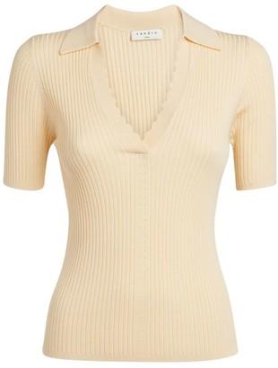 Sandro Paris Ribbed Knit Sweater