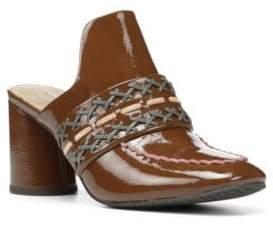 Donald J Pliner Garcea Leather Slip-On Mules