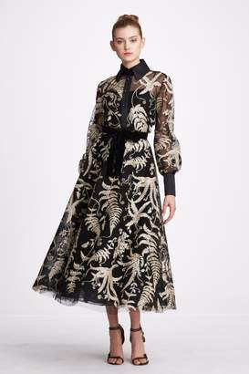 Marchesa Blouse And Skirt