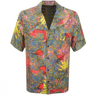 Vivienne Westwood Short Sleeved Shirt Blue