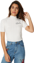 MinkPink Her Name Means Beauty Womens Top White