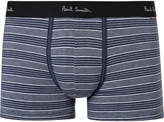 Paul Smith - Striped Stretch-Cotton Boxer Briefs