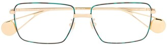 Gucci Rectangular-Frame Glasses